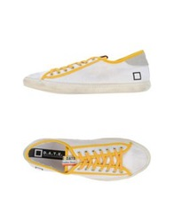 D.A.T.E. Low Tops And Trainers White