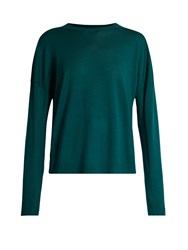 Acne Studios Charel Merino Wool Sweater Green