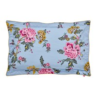 Joules Chinoise Floral Oxford Pillowcase Blue