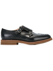 Church's Buckled Monk Shoes Black