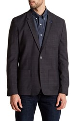 Original Penguin Plaid Blazer Gray