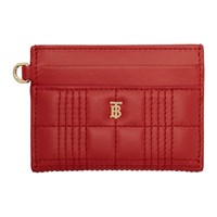 Burberry Red Sandon Card Holder