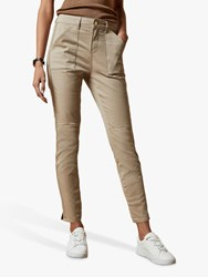 Ted Baker Combate Skinny Jeans Cream
