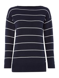Barbour Barnvale Knit Navy