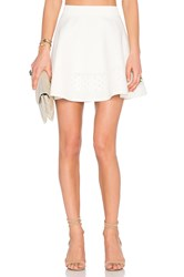 Lovers Friends X Revolve Be Mine Skirt White
