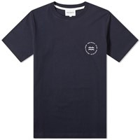 Norse Projects Niels Wave Emblem Tee Blue
