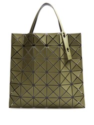 Issey Miyake Lucent Frost Tote Khaki