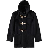 Gloverall Mid Length Monty Duffle Coat Black