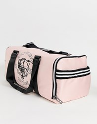 Juicy Couture Logo Zippy Holdall Pink