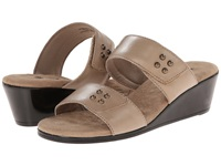 Walking Cradles Nick Light Taupe Antanado Women's Slide Shoes Brown
