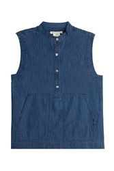 Marc By Marc Jacobs Denim Blouse Blue