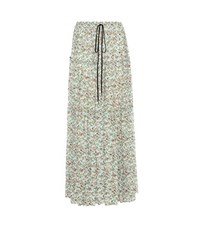 Chloe Printed Maxi Skirt Multicoloured