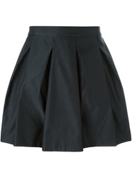 Mcq By Alexander Mcqueen Pleated Full Skirt Black