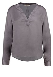 Cream Simone Blouse Smoked Pearl Grey