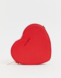 Ted Baker Amellie Heart Bag Red