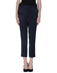 Darling Trousers Casual Trousers Women Dark Blue