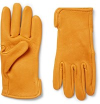 Best Made Company Roper Leather Gloves Mustard