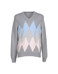 Cains Moore Sweaters Grey