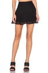 Bcbgeneration Flounce Skirt Black
