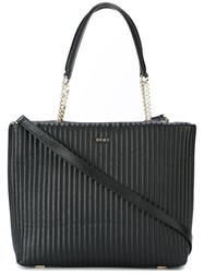 Dkny Quilted Tote Black