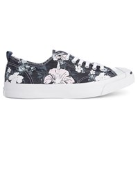 Converse By Jack Purcell Blue Jack Purcell Floral Print Sneakers