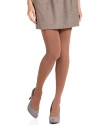 Hue Ribbed Opaque Tights With Control Top Tights Ivory