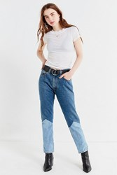 Urban Renewal Recycled Seamed Panel Levia S Jeans Indigo