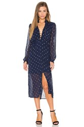 Bardot Celestial Maxi Dress Navy