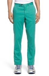Ted Baker Men's London Water Resistant Golf Chinos Green