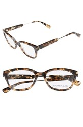 Derek Lam Women's 50Mm Glasses Brown Marble