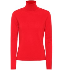 Jardin Des Orangers Cashmere Turtleneck Sweater Red