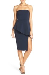 Women's Jay Godfrey 'Angie' Peplum Stretch Sheath Dress