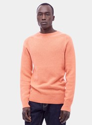Ymc Orange Cale Crew Cashmere Sweater