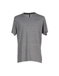 Alternative Earth Topwear T Shirts Men Grey