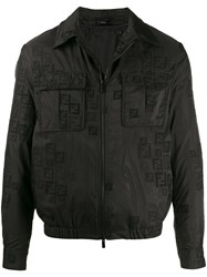 Fendi Ff Embroidered Jacket 60