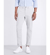 Michael Kors Slim Fit Skinny Stretch Cotton Chinos Ice Grey