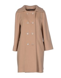 Massimo Rebecchi Coats And Jackets Coats Women Sand