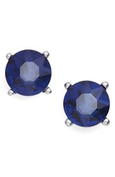 Badgley Mischka Women's Jewel Stud Earrings Hematite