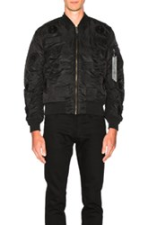 Marcelo Burlon Pissis Alpha Ma 1 Jacket In Black