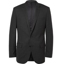 J.Crew Grey Ludlow Slim Fit Wool Suit Jacket Gray