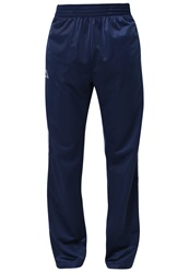 Kappa Vinas Tracksuit Bottoms Marine Dark Blue