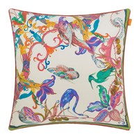 Etro Fuengirola Cushion 60X60cm Green Pink