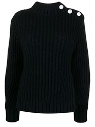 Zadig And Voltaire Marlow Awa Knitted Jumper Blue