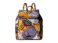 Vera Bradley Drawstring Backpack Painted Feathers Backpack Bags Multi