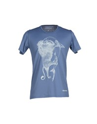 Misericordia Topwear T Shirts Men Slate Blue