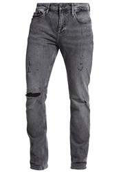 Calvin Klein Jeans Slim Straight Straight Leg Grey Denim
