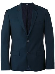 Kenzo Single Breasted Blazer Blue