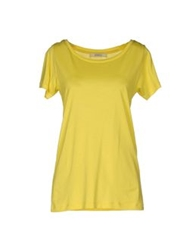 Sessun Short Sleeve T Shirts Yellow
