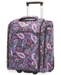 Ricardo Palm Springs 16 Under Seat Rolling Tote Midnight Paisley