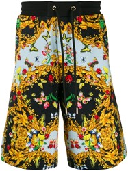 Versace Jeans Couture Printed Shorts 899 Black